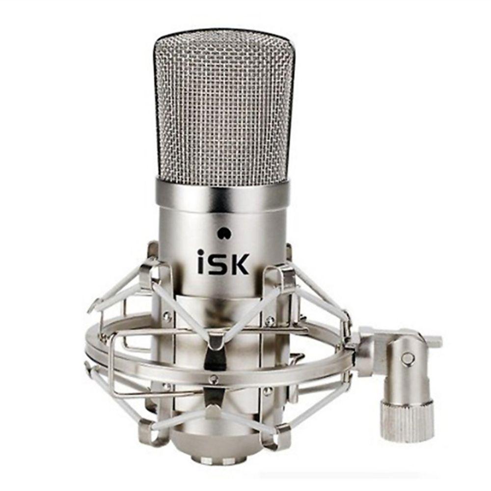 Origine ISK BM-800 Condensateur de Studio Microphone D'enregistrement Professionnel Mike musique créer diffusion condensateur microphone