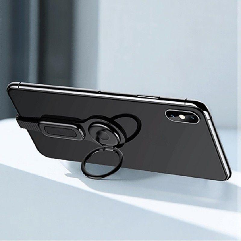 Pour l'éclairage double adaptateur et porte-anneau USAMS 3.5mm Audio et chargeur ajuster le support pour téléphone charge rapide pour iPhone iOS adaptateur OTG