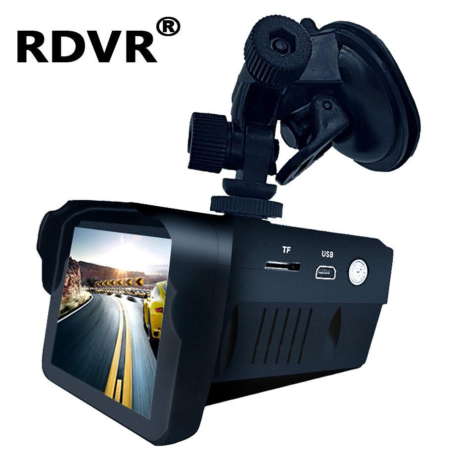 H588 voiture 2 en 1 Dashcam antiradar combo caméra de vitesse registar signal anti radar dvr dash cam détecteur de radar intelligent avec enregistreur