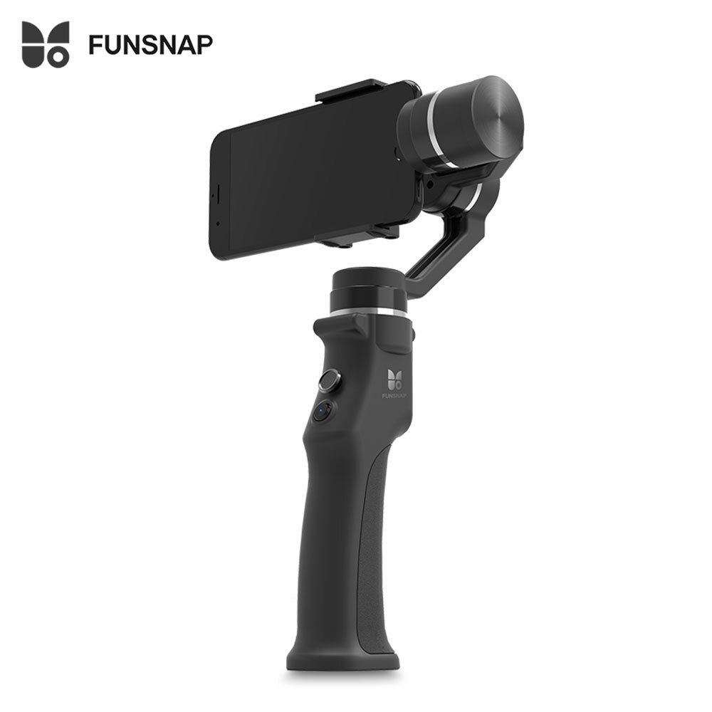 FUNSNAP Capture 3-Axis Handheld Brushless Gimbal Stabilizer Stable Shooting Device Customized for Smart Phone Bluetooth Connect