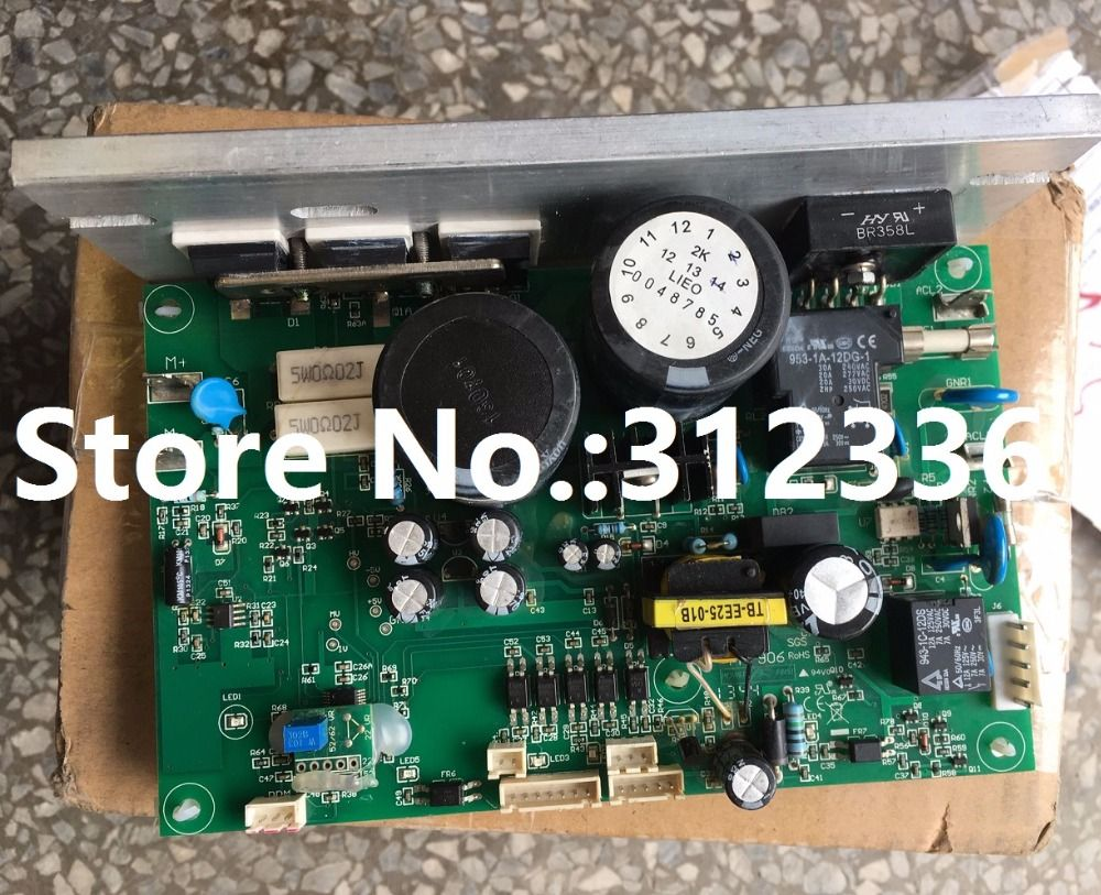 Free Shipping Motor Controller Control panel driver board treadmill circuit board motherboard suit for the more treadmill