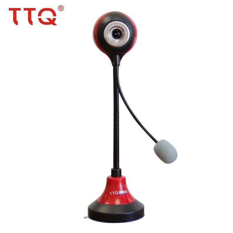 TTQ HD USB Webcam pour Ordinateur nuit vision Web Caméra pour PC de bureau Ordinateur Portable Skype MSN Micro Intégré logitech webcam USB hd 360