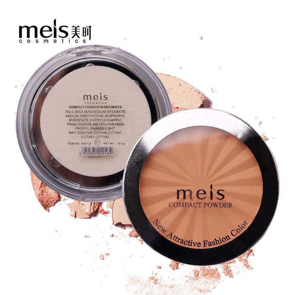 MEIS marque cosmétiques professionnel maquillage visage poudre visage correcteur maquillage fond de teint poudre pressée doux sourire MS0120