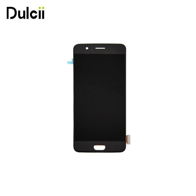 Dulcii für OnePlus 5 OEM Lcd-bildschirm und Digitizer für Eins Plus 5-Schwarz