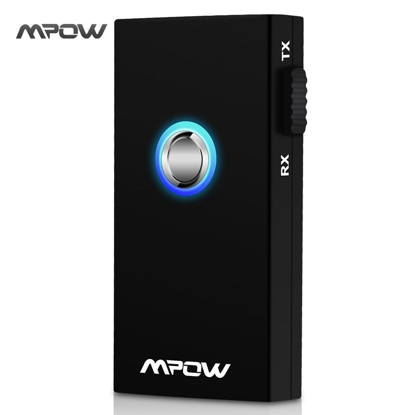 Mpow MBT3 2-In-1 Streambot Wireless Bluetooth Speaker Audio Music Streaming Switchable Transmitter Receiver for Speakers TV Car