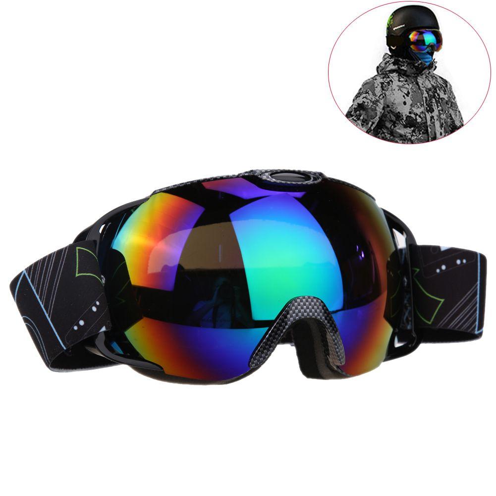 UV400 Big Ski Snowboard Mask Glasses Skiing Goggles Anti-fog Outdoor Ski Snowboarding Glasses Winter Ice Snow Skiing Eyewear