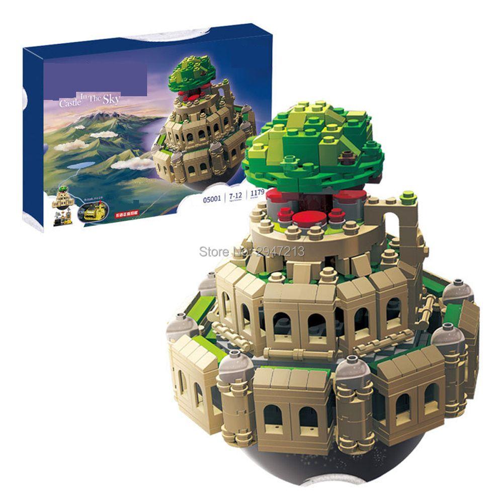 hot compatible LegoINGlys city technic Creative series Castle in the Sky MOC Building blocks modle brick toys for children gift
