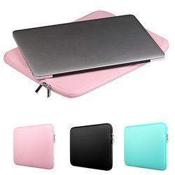 Besegad Portant Stockage Protecteur D'ordinateur Portable Manches Poche de Couverture de Peau Sac Cas pour MacBook Mac Book Pro Air 11 13 13.3 15 15.4 pouces