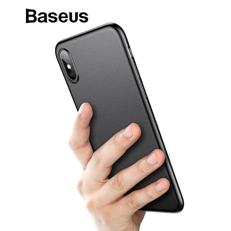 Baseus Super Super Dünne Flügel Fall Für iPhone Xs Xs Max XR 2018 Cases Harte PP Zurück Telefon Zubehör Für iPhone Xs Xs Max Abdeckung
