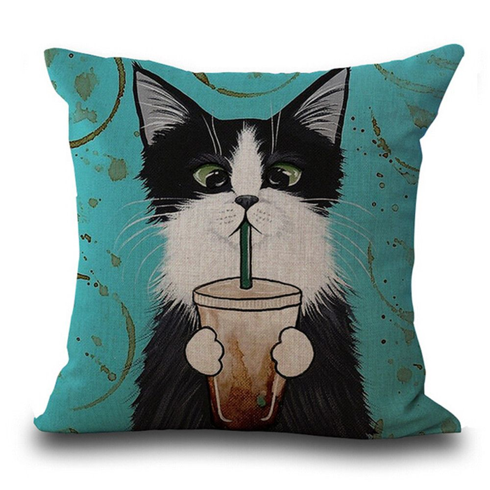 Cute Cat Pillowcases 6 set/8 pack