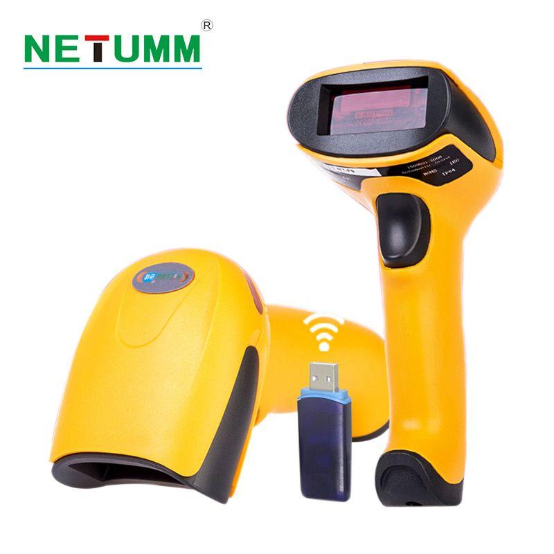 Drahtlose barcode-scanner laser NETUM-2028 high sensitive 433 Mhz barcode tragbaren scanner USB reader mobile payment conmputers