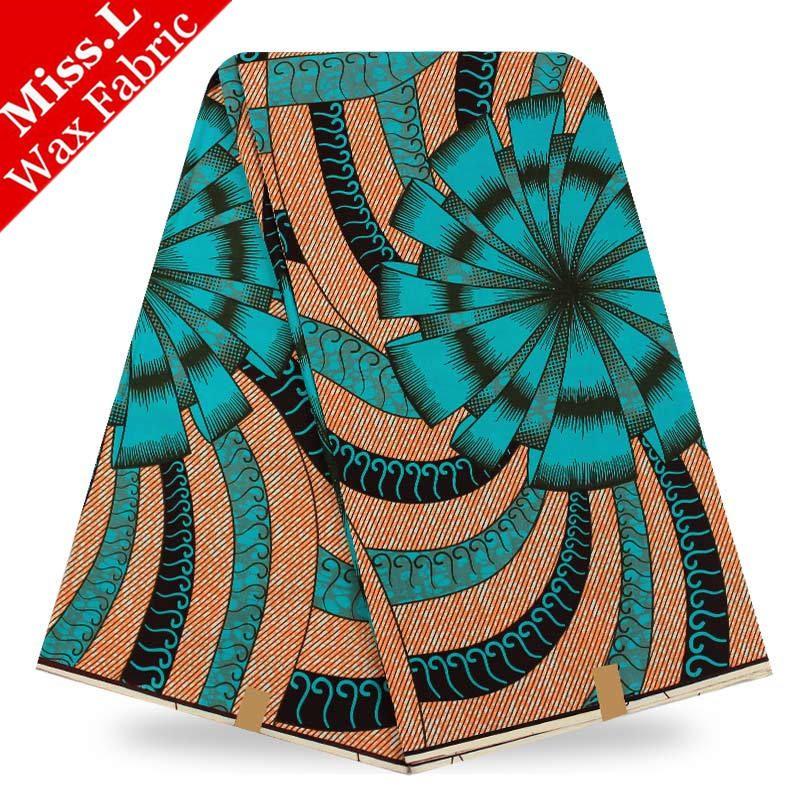 Miss.L Most popular design veritable wax hollandais guaranteed dutch super wax hollandais african wax prints fabric 6yards
