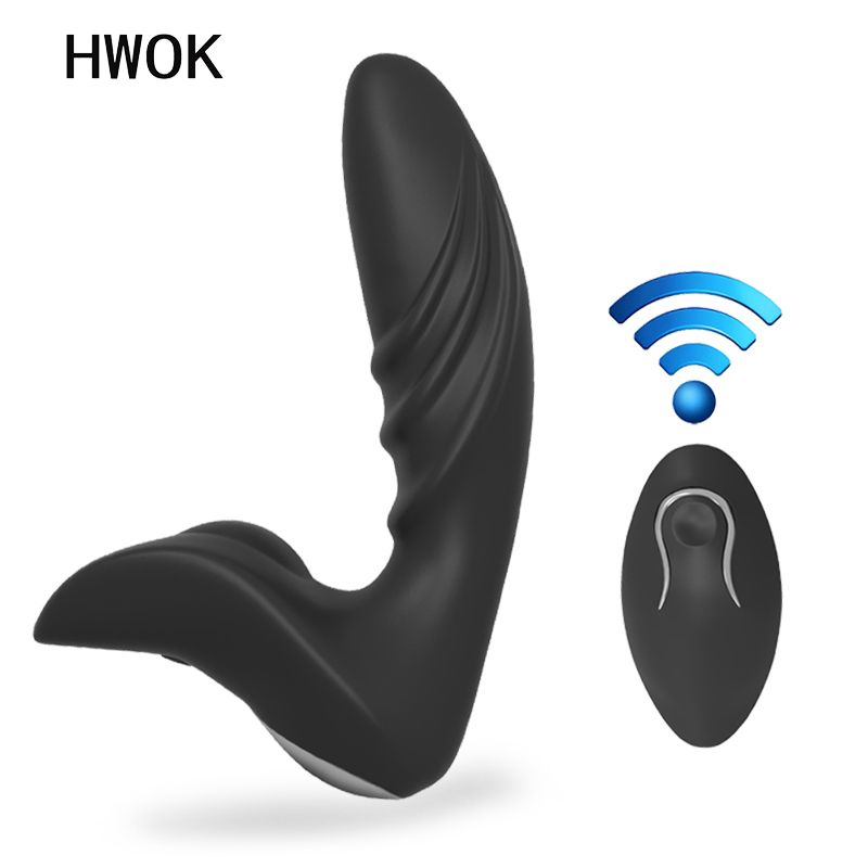 Anal <font><b>vibrator</b></font> masturbator for men climax Wireless remote control Anal plug Prostate Massager dildo <font><b>vibrator</b></font> sex toys for adults