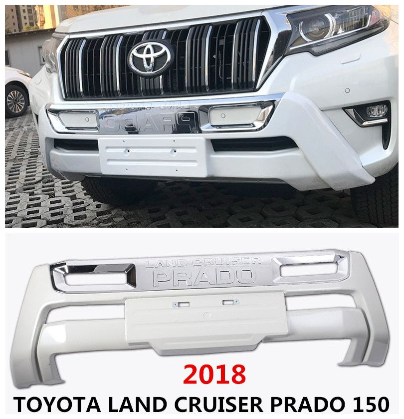 For TOYOTA LAND CRUISER PRADO 150 2018 Front BUMPER GUARD BUMPER Plate High Quality Auto Accessories