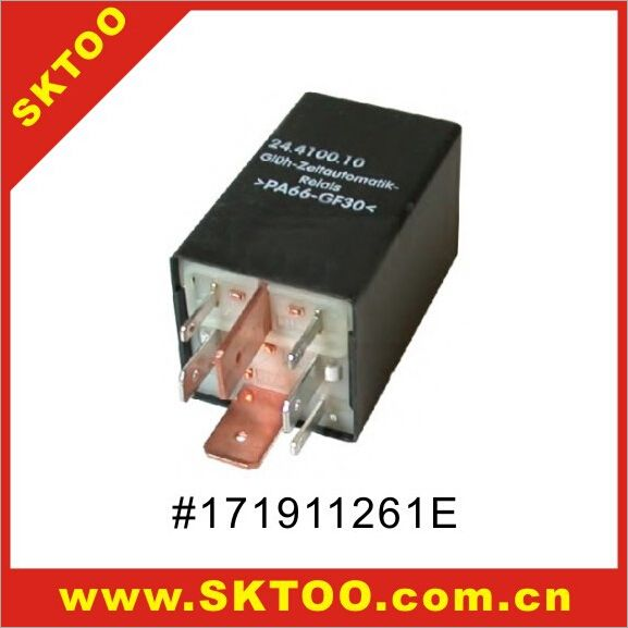 for RELAY / RELAIS USED  FOR VW/ AUDI FAST GLOW PLUG CONTROLLER oem:171911261E,191911261C,443911261