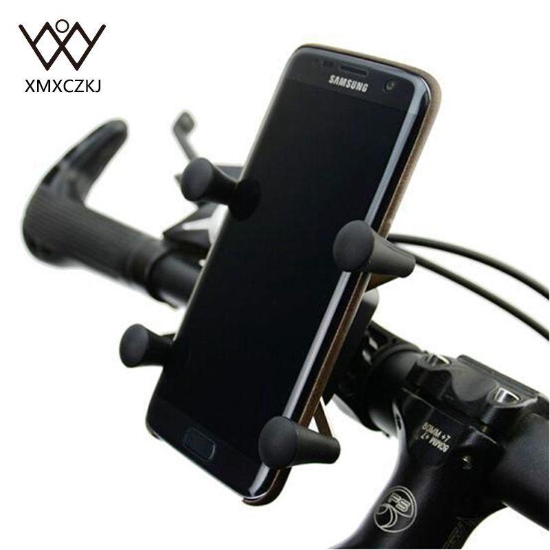 Nouvelle Version Universelle Rotation 360 Degrés X-Grip support de Fixation Vélo Vélo Support de Téléphone Stand Pour Téléphone Portable Livraison Gratuite