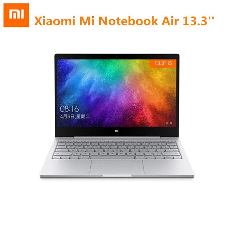 Xiao mi mi Notebook Air 13,3 Windows 10 Intel Core i5-7200U Dual Core Laptop 2,5 ghz 8 gb RAM 256 gb SSD Gewidmet Karte Dual WiFi
