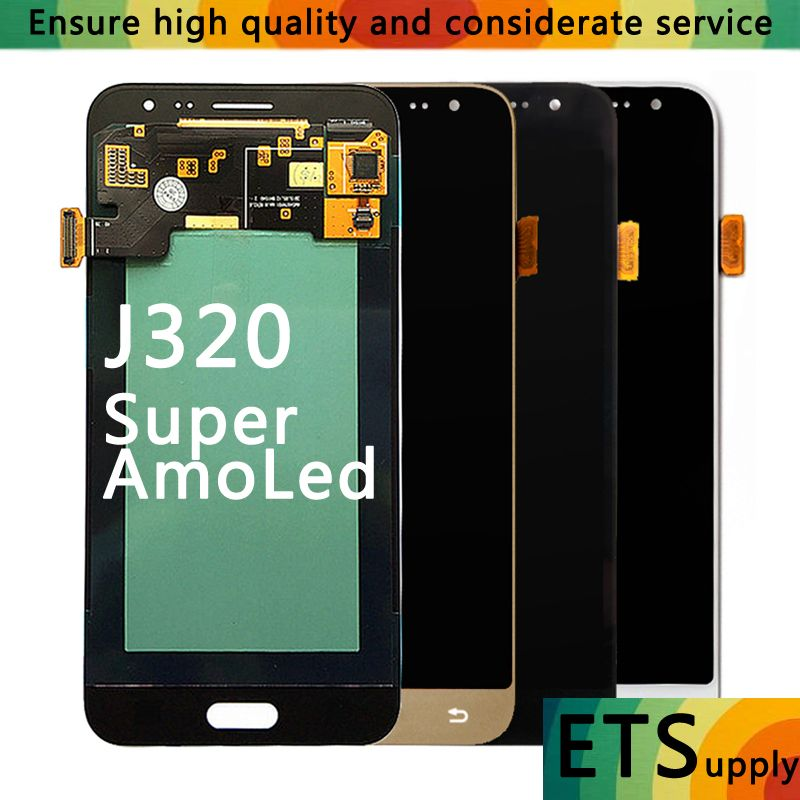 High Quality AAA For Samsung Galaxy J3 2016 J320F J320H J320M J320FN LCD Display Touch Screen Digitizer Assembly Replacement
