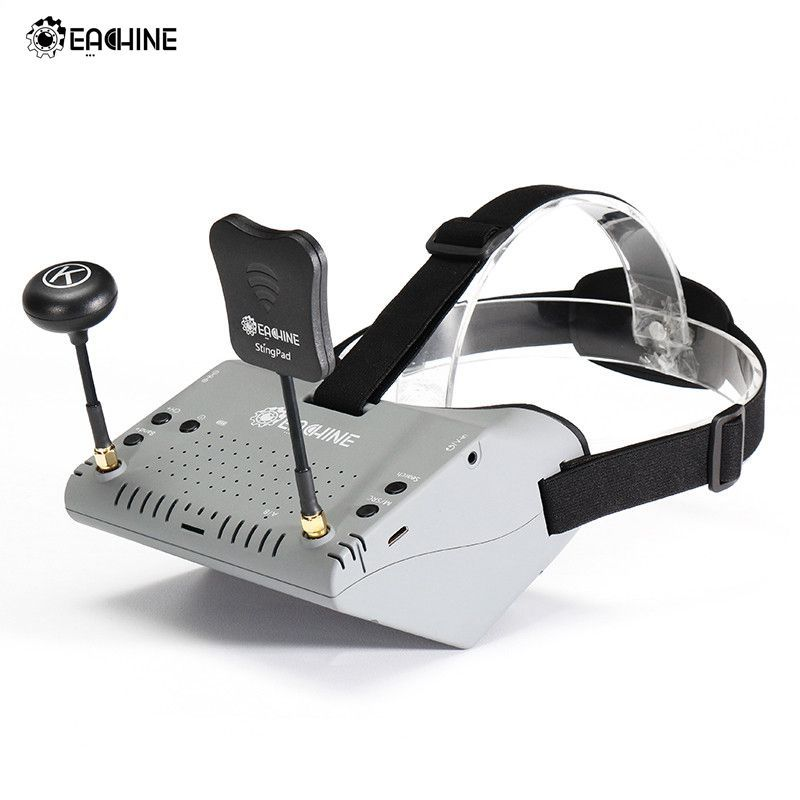 In Stock!Eachine EV900 5.8G 40CH HDMI AR VR FPV Goggles 5 Inch 1920*1080 HD Display Built-in Battery