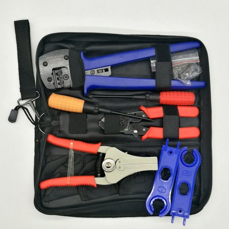 MC4-LY2546B Easy Type Solar Crimping Pliers Tools Pv Connector Wire Crimpers Solar terminal crimping tool 2.5-6mm2 for MC4