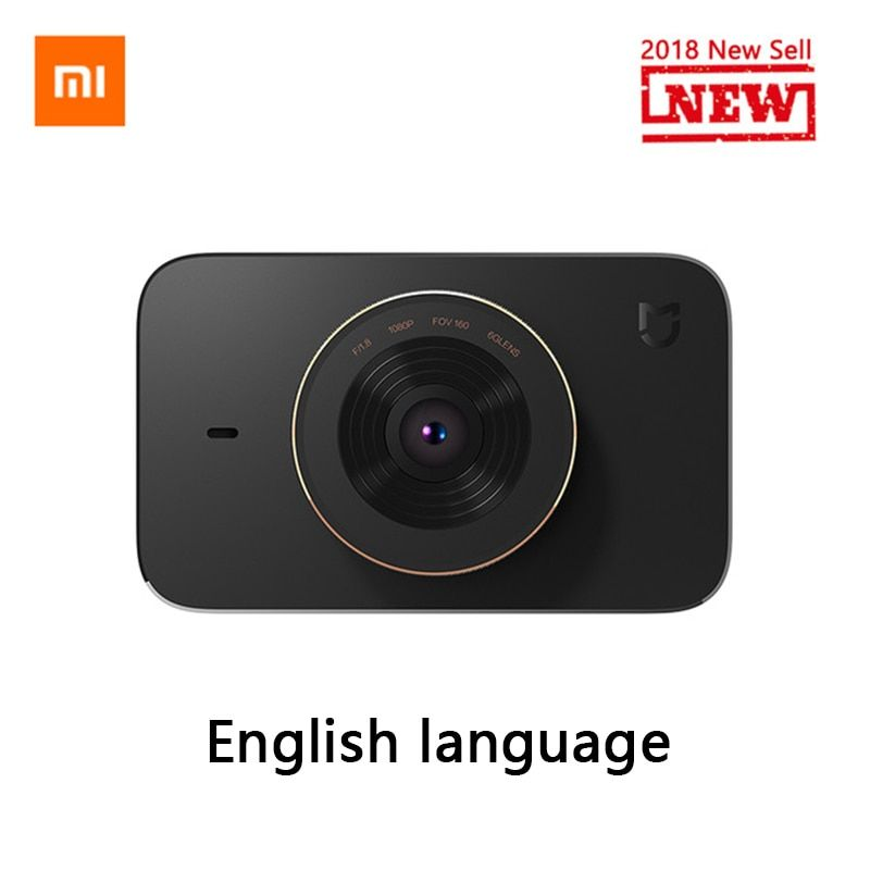 Original Xiaomi Mijia Carcorder Smart DVR Car Driving Recorder F1.8 1080P 160 <font><b>Degree</b></font> Wide Angle 3 Inch HD Screen Portable
