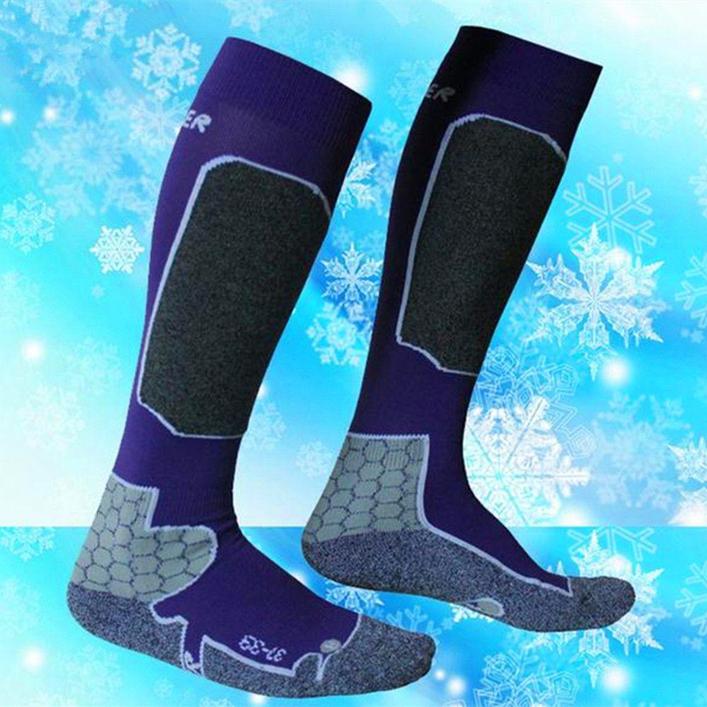 Female Winter Women Thermal Ski Socks Cotton Sports Snowboard Skiing Camping Hiking Socks Thermosocks Leg Warmers high quality