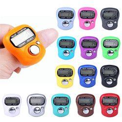 CARPRIE Digit Digital LCD Electronic Finger Hand Ring Knitting Row Tally Counter Sport DE12
