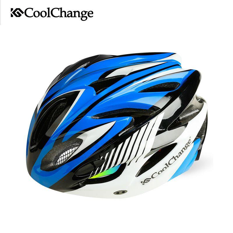 CoolChange monter le vélo casque et route de montagne vélo hommes et femmes sur le casque intégré équitation casque de vélo équipé