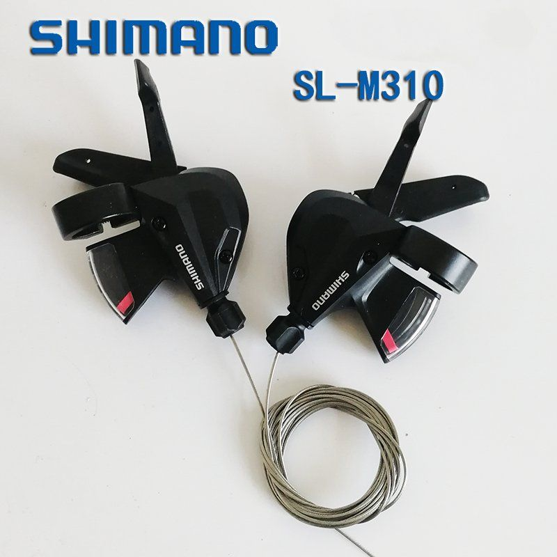 SHIMANO Altus SL-M310 3s 8s 24 Speed Bike Bicycle Shifter Trigger Set Rapidfire Plus w/Shifter Cable