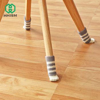 WHISM 4 шт. Нескользящие коврики бампер демпфер милые мебель ног коврик для ног шапки фетр колодки Кошачий коготь стул ног носки для девоче