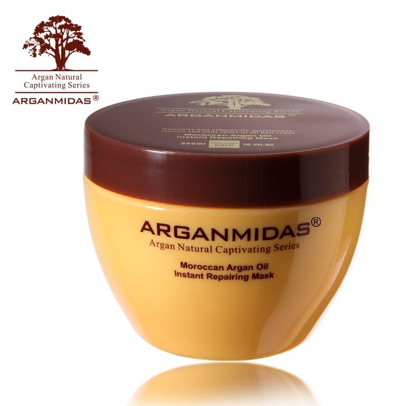 Arganmidas 300ML Factory Cheaper Instant Repairing Mask Best Hair Treatment Restore Soft Hair For Dry Hair Free Shipping