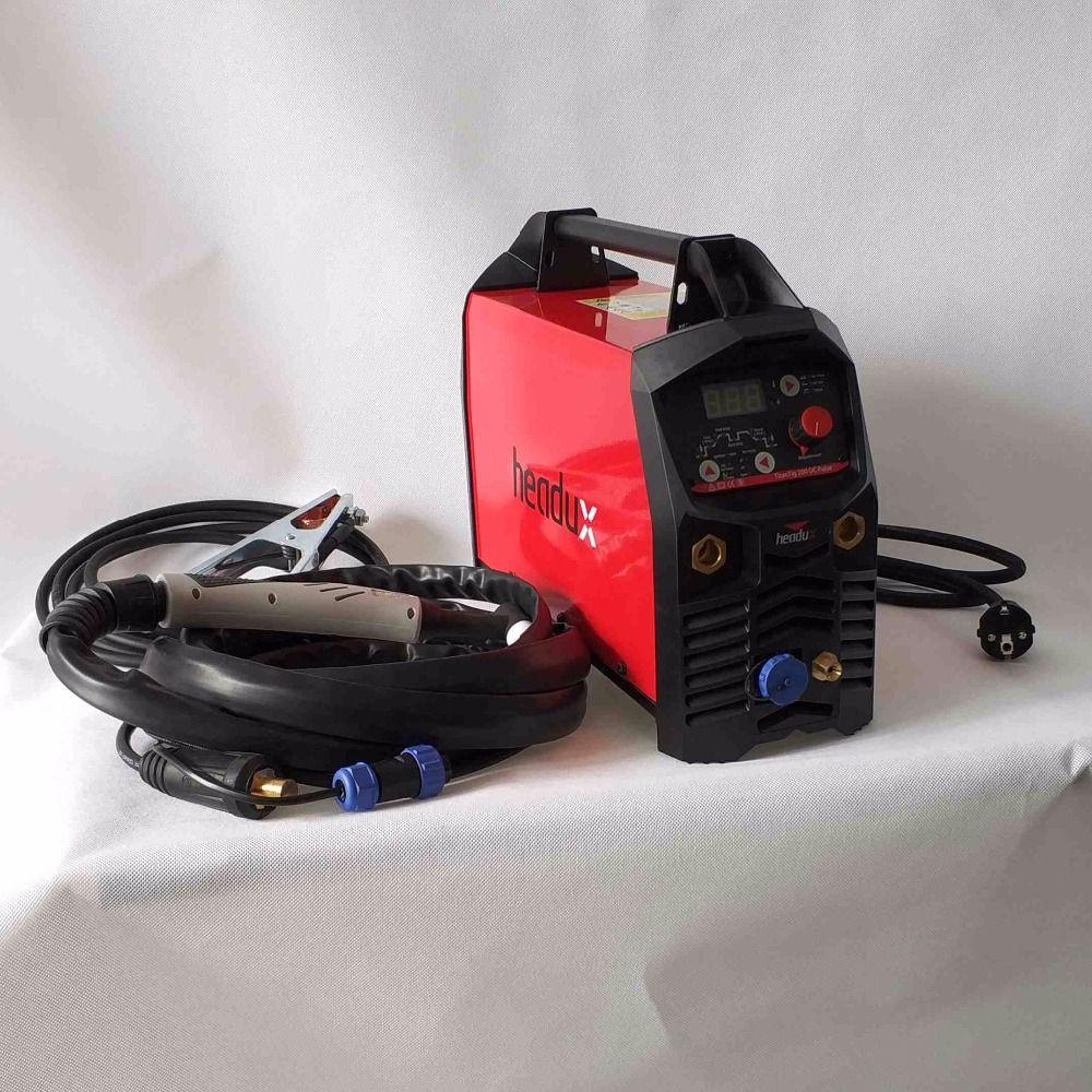 Professional Digital TIG 200A Pulse Welding Machine Hot Start HF Ignition Anti-Stick Arc-Force CE IGBT Inverter Welder Equipment