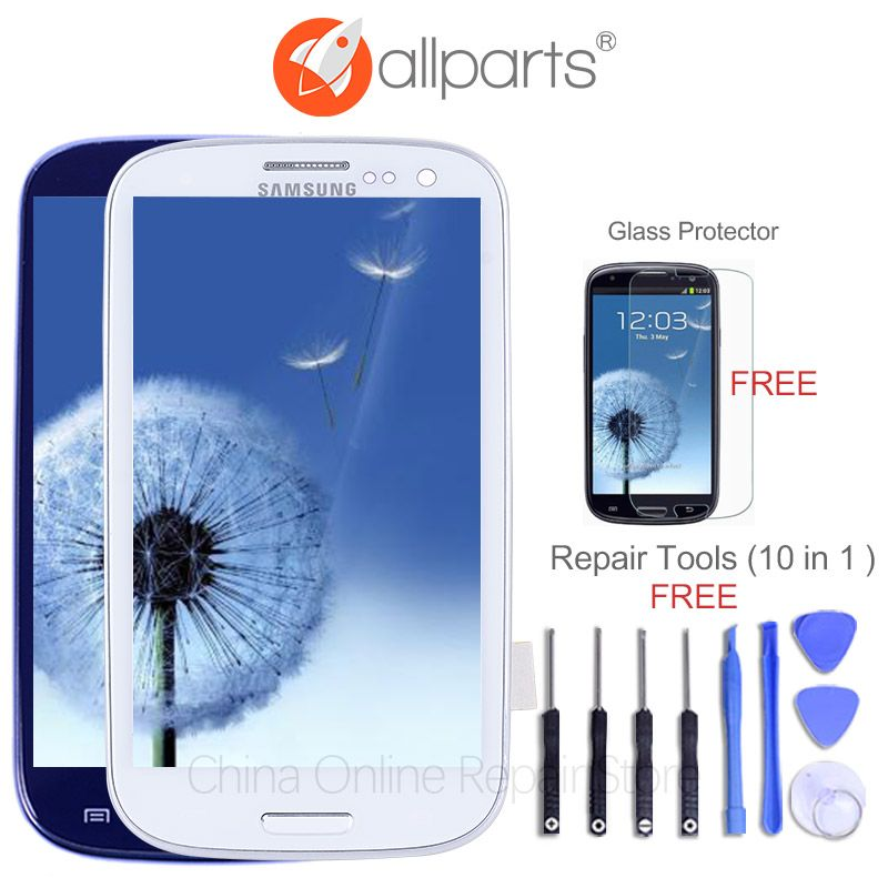 TESTED For SAMSUNG S3 Display LCD i9300 i9305 i9301 Touch Screen Digitizer Replacement For SAMSUNG Galaxy S3 LCD Screen