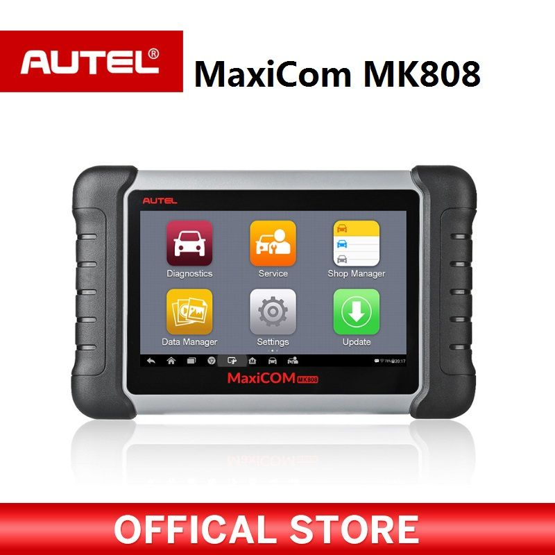 Autel MaxiCOM MK808 OBD2 Diagnostic Tool ODB2 scanner automotive code reader for key programming EPB IMMO DPF SAS TMPS PK MX808