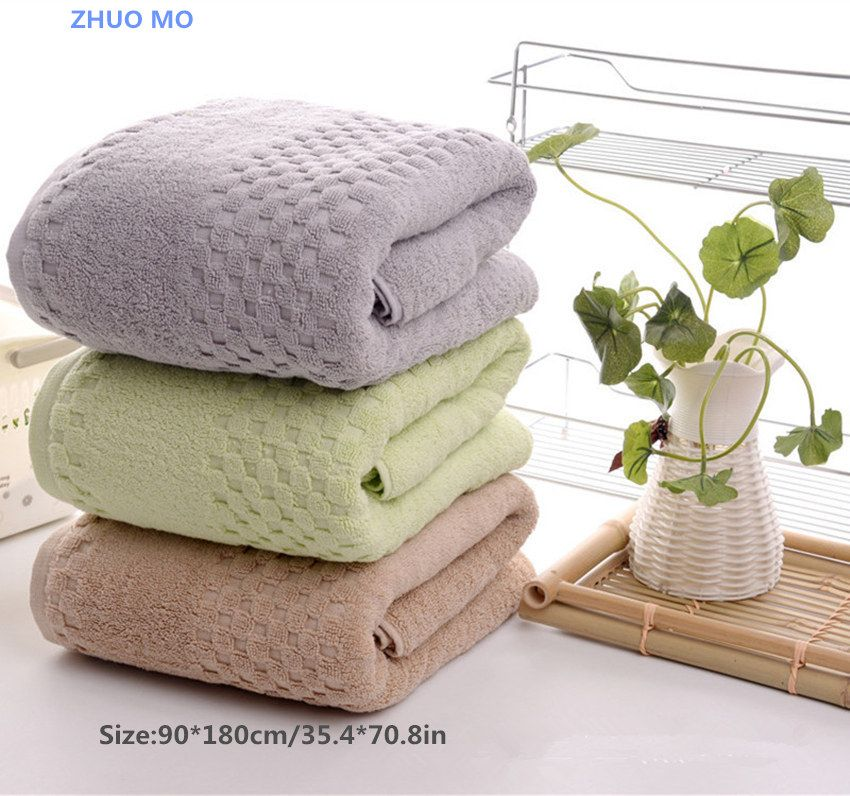 2Pcs 90*180cm 900g Luxury Egyptian Cotton Bath Towels for Adults,Extra Large Sauna Terry Bath Towels,Big Bath Sheets Towels