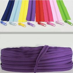 10 Mètres de Long 3 # Nylon Coil Fermetures À Glissière Pour Le BRICOLAGE À Coudre Vêtement Accessoires 22 Couleurs Pour Le Choix 2-021