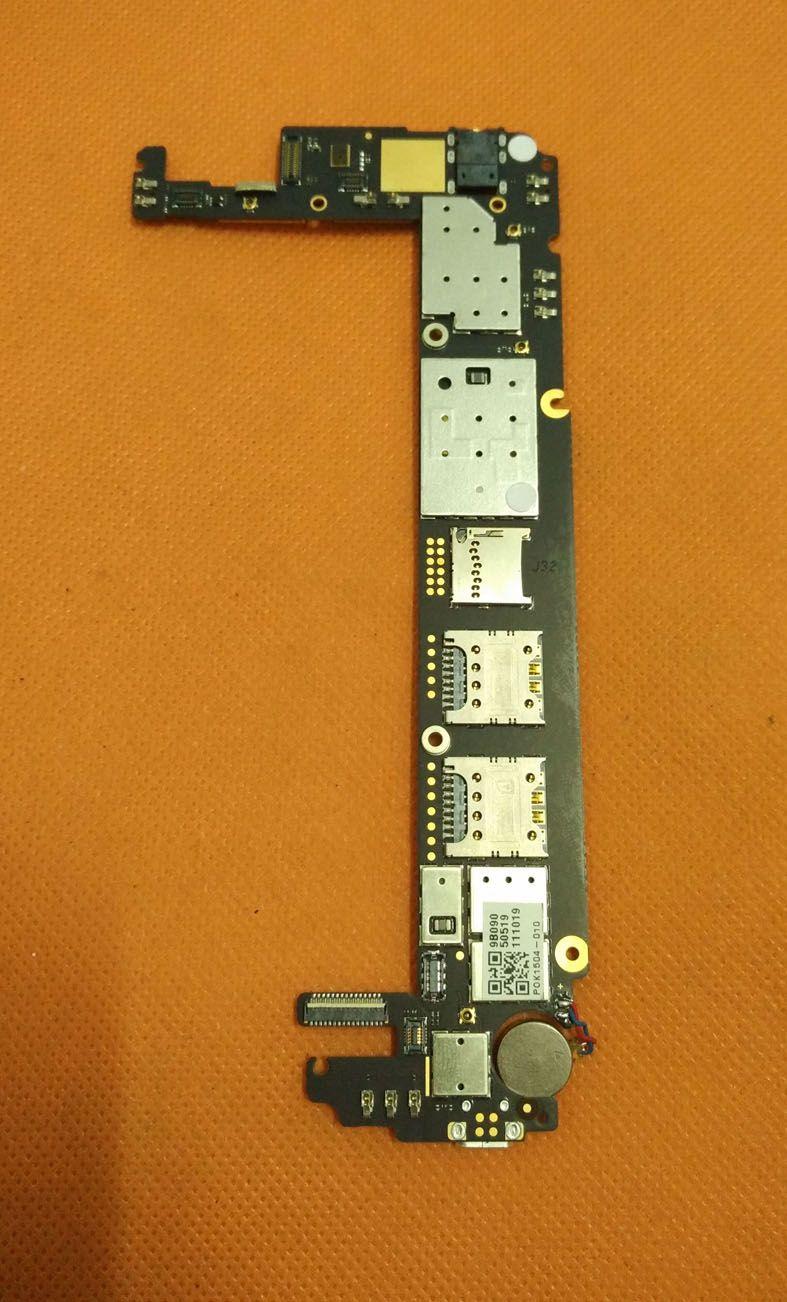 Original mainboard 2G RAM+32G ROM Motherboard for Nubia Z7 Max NX505J Quad Core 5.5 FHD 1920X1080 free shipping