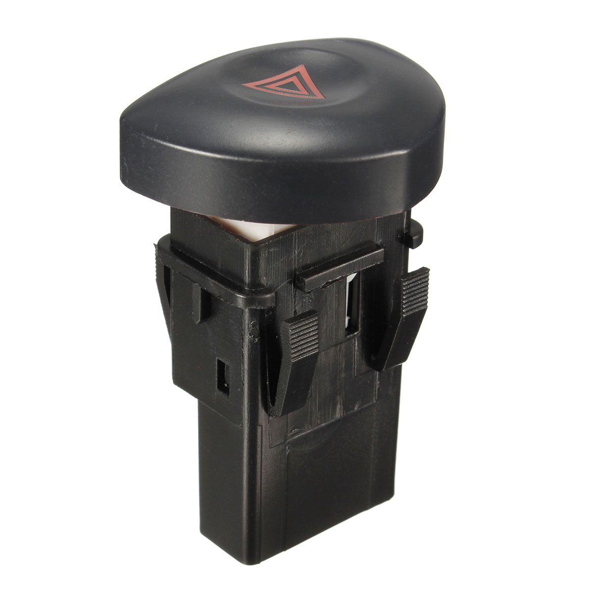 OEM 8200060036 Schwarz Gefahr Lichter Warnung Schalter Für Renault Clio MK II 2001 2002 2003 2004 2005 2006