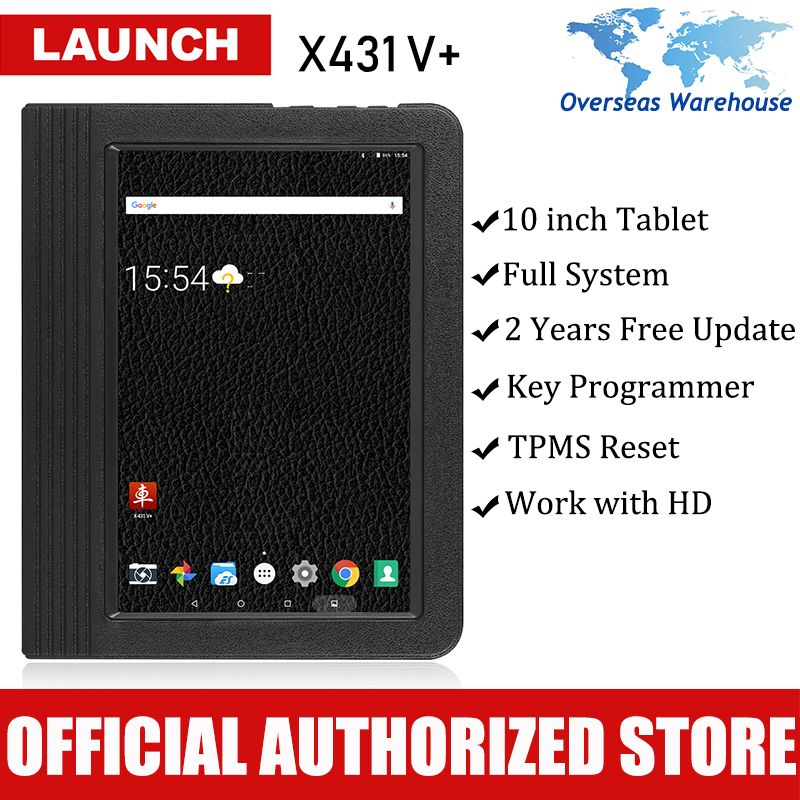 Launch X431 V+ Auto Diagnostic Scanner Car Diagnostics Full System Automotive Autoscanner Scanner X 431 V Pad PK Launch Pro Pro3