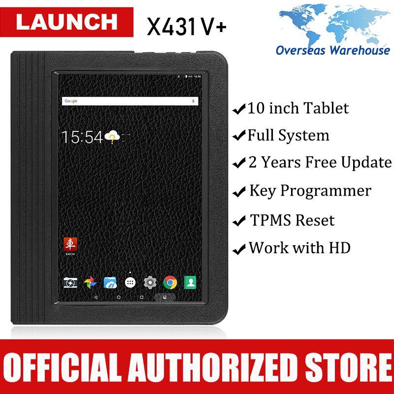 Starten X431 V + Auto Diagnose Scanner Auto Diagnose Werkzeug Full System Automotive Autoscanner Scanner Tablet PK X 431 V pad