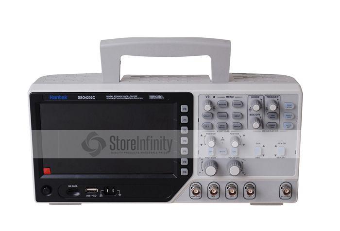 Hantek DSO4202C 2 Channel Digital Oscilloscope 1 Channel Arbitrary/Function Waveform Generator 200MHz 40K 1GS/s