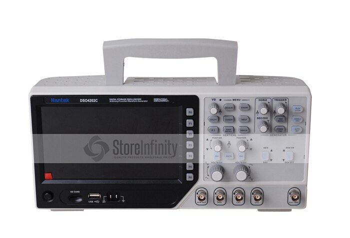Hantek DSO4202C 2 Kanal-digital-oszilloskop 1 Kanal Beliebige/Funktion Waveform Generator 200 MHz 40 Karat 1GS/s