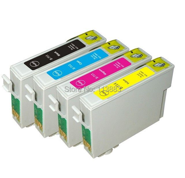 4 INK 89/71 T0711-T0714 T0715 compatible ink cartridge for EPSON Stylus SX100/SX110/SX105/SX115/SX200/SX205/SX209/SX210 printer
