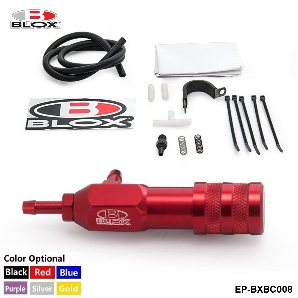 Blox Sport Racing Adjustment RED Polish Manual Boost Controller Universal MBCTurbo For Honda Evo Wrx EP-BXBC008