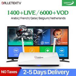 Leadcool IPTV Arabe France TV Récepteur Android Rk3229 Quad-Core Leadcool QHDTV Abonnement IPTV France Belgique Arabe Néerlandais