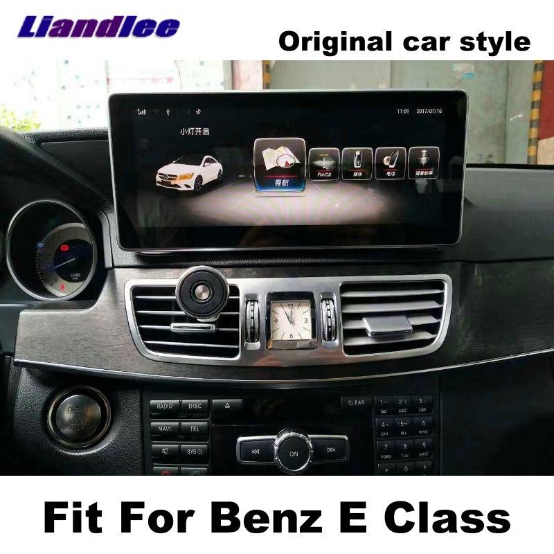 Liandlee Car Multimedia Player NAVI For Mercedes Benz MB E Class W212 2009~2016 Original car system Radio Stereo GPS Navigation
