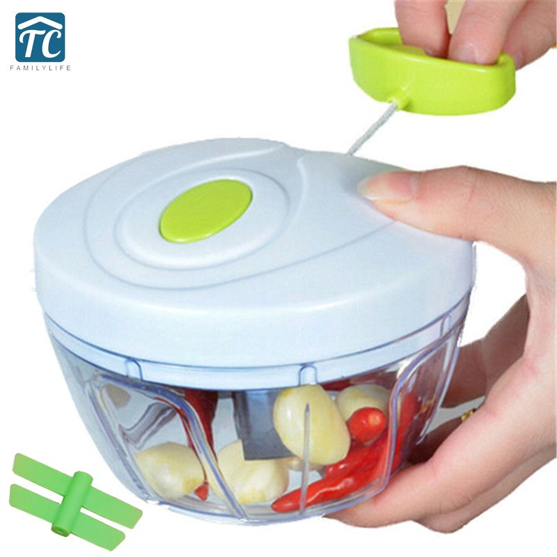 Kitchen Tools Multifunction Food Chopper Garlic Cutter Vegetable Slicer Fruit Chopper Tools Manual Meat Grinder Drop shipping