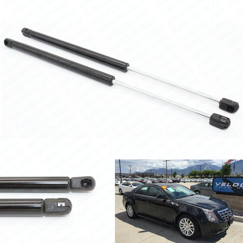 2pcs Rear Trunk Boot Auto Gas Spring Struts Prop Ascensor de apoyo Fits for 2008 2009 2010 2011 2012 Cadillac CTS