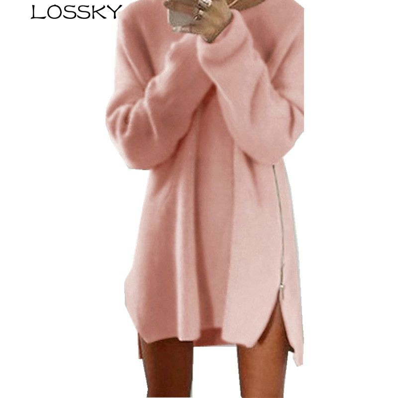 Large Sizes New Spring Autumn Fashion Women Casual Long Sleeve Irregular Sweater Loose Plus Size Female Zipper Sweaters Tops 4XL