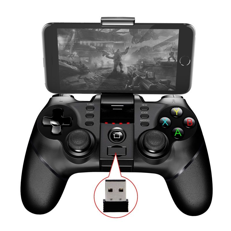 2017 New PG 9076 Batman Gaming Bluetooth 2.4G Wireless Controller Gamepad Joystick For PS3 Android Phone Tablet PC Laptop